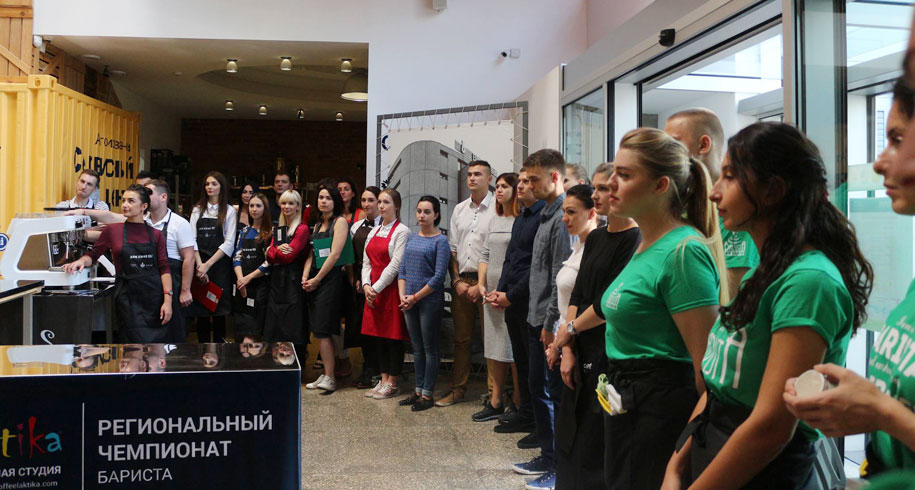 Победители 11-го кофейного чемпионата Дом Кофе